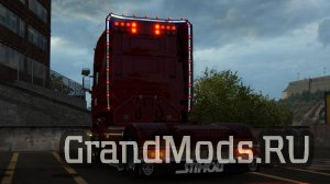 Scania R & Streamline Modifications V 2.3 [ETS2 1.39]