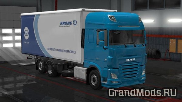 DAF XF 106 Rigid by XBS [ETS2]