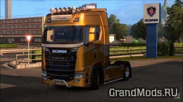 Scania NextGen Addons by SMG v 1.1 [ETS2]