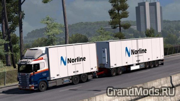 Tandem addon for RJL Scania [ETS2]