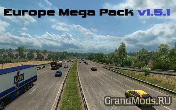 Europe Mega Pack v1.55 [ETS2]