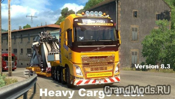 63 Heavy Cargo Pack V8.3 [ETS2]