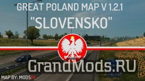 Great Poland v.1.3.0 by ModsPL [ETS2 v.1.30.x]