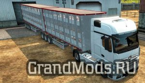 Fliegl Animal Transport Trailer [ATS+ETS2]