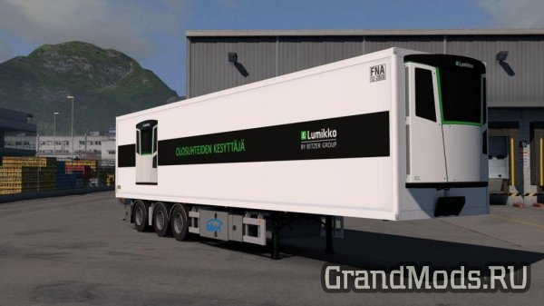 Ekeri trailers by Kast v1.6 [ETS2]