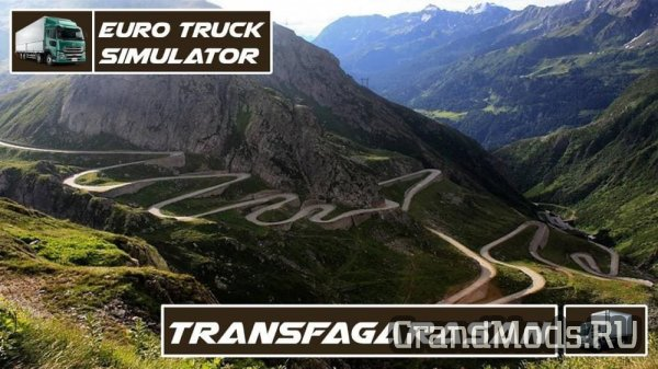 Map of Transfagarasan (RO) [ETS2]