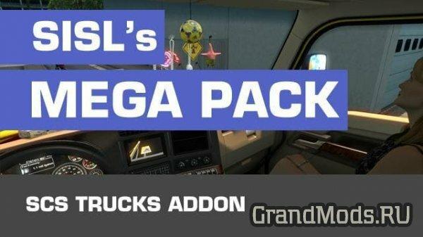 SiSL's Mega Pack SCS Trucks v1.1 [ATS]
