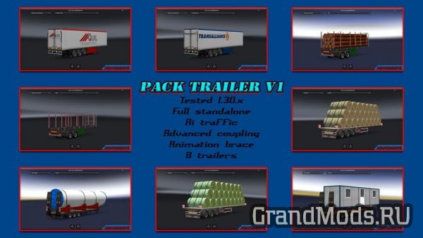 Pack Trailer V1 [ETS2]