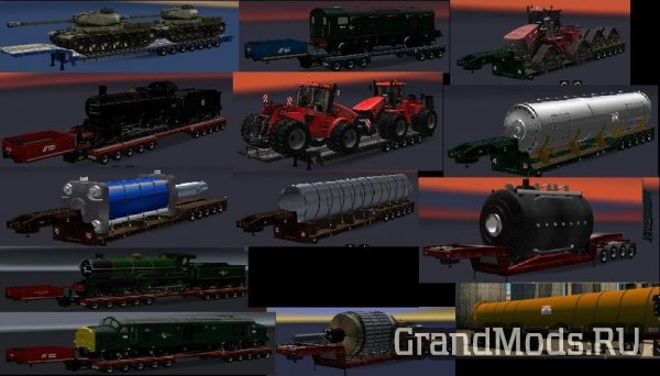 Chris45 ATS Heavy Trailers Pack v1.0 [ATS]
