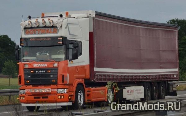 Scania 4 Series V8 Sound v1.1 [ETS2]