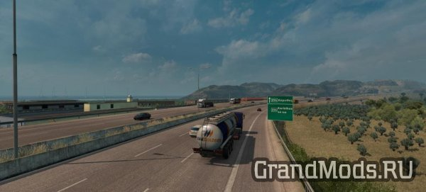 Greece2: Extending 1:1 real-life map to Korinthos [ETS2]