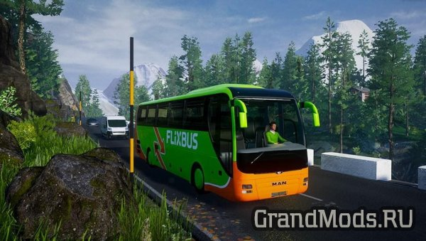 DLC Альпийских стран для Fernbus Simulator