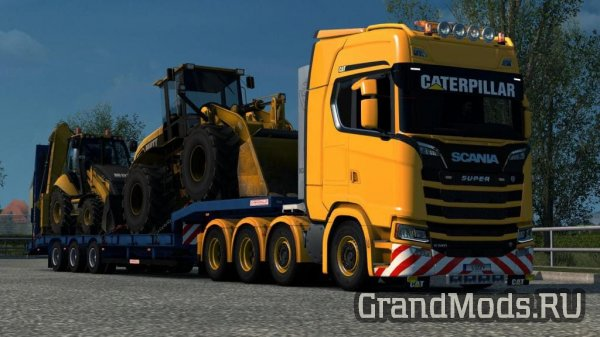 Scania S - Caterpillar Paintjob by l1zzy [ETS2]