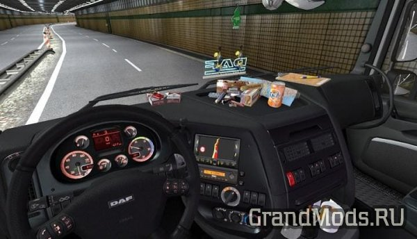 DAF XF 105 interior+sound+dashboard [ETS2]