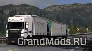 Profiliner B-double by Kast [ETS2]