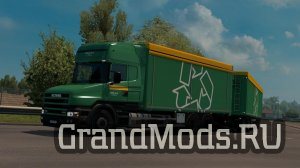 Rigid chassis for RJL Scania T & T4 v3.2.1 [ETS2]
