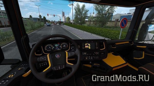 Scania New Generation Interior Raven v1.0 [ETS2]