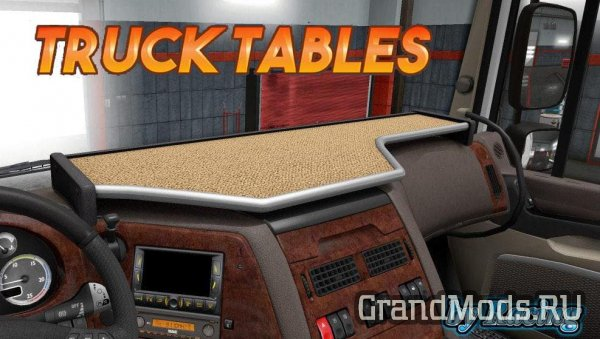 Truck Tables by Racing v7.0 [ETS2]