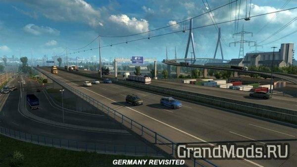 ETS2: Обновление карты Германии