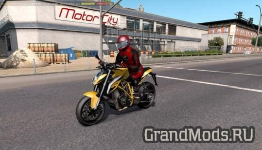 Motorcycle Traffic Pack v1.1 [ATS]