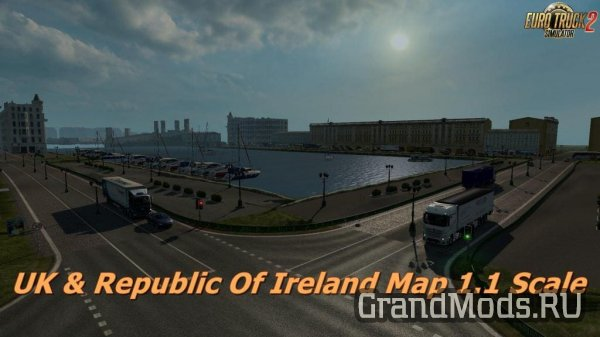 UK & Republic Of Ireland Map [ETS2]