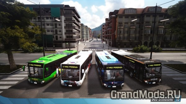 Bus Simulator 18 - Country Skin & Decal Pack