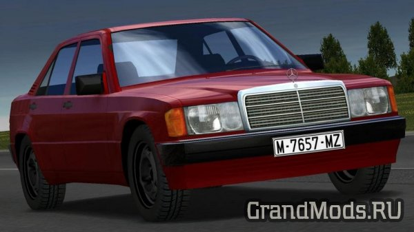 MERCEDES-BENZ 190E [1.31 & UP] [ETS2]