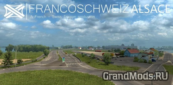 Map of France (region Alsace) v 1.0 [ETS2]