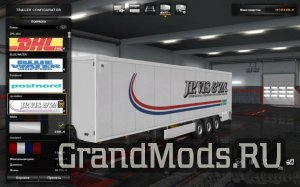Skin Pack for Trailers SCS v1.1 [ETS2]