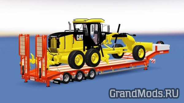 CAT 140M TRAILER V1.2 [ETS2]