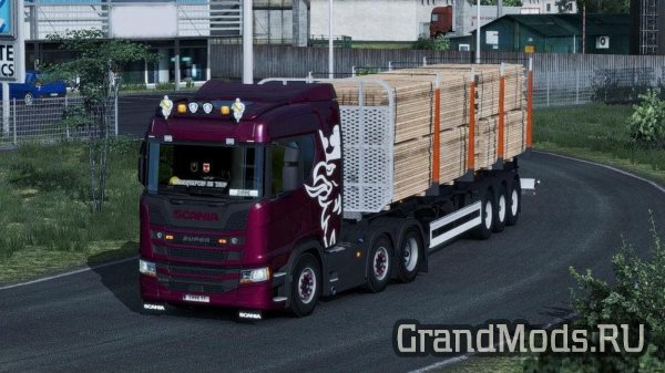 Scania New Generation for AI Traffic 1.32.x [ETS2]