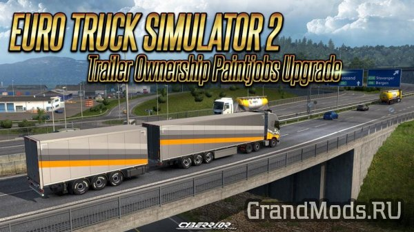 Trailer Ownership – Paintjobs Upgrade [ETS2]