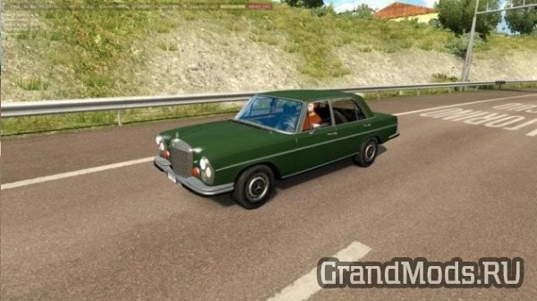 Classic Cars Traffic Pack v1.7 by TrafficManiac [ETS2]
