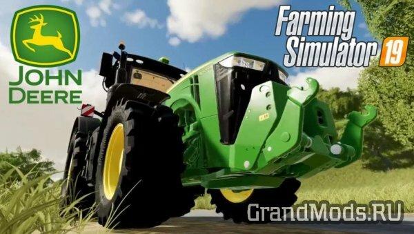 Презентация трактора John Deere 8400R в FS19