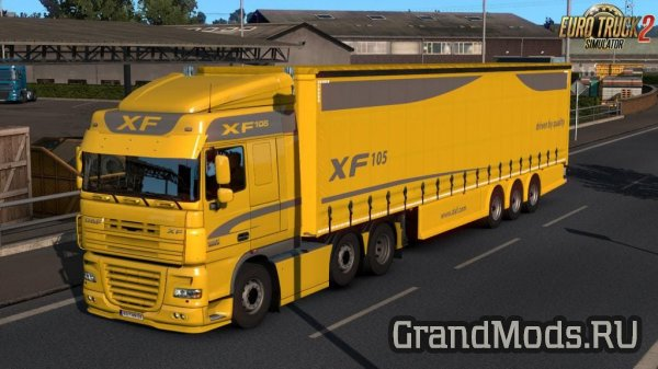 AERO CURTAIN V2.0 [ETS2]