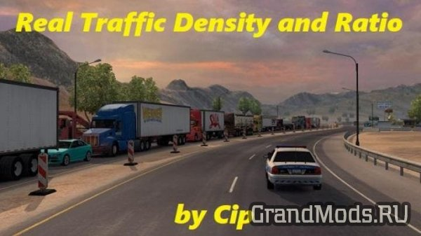 Real Traffic Density and Ratio v1.32 [ATS]