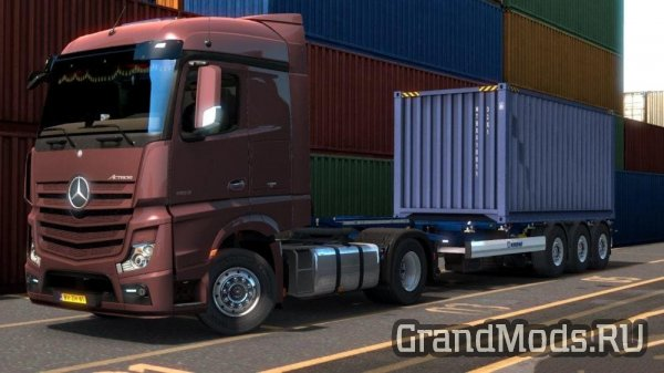 Owned Boxliner Trailer for Krone DLC [ETS2]