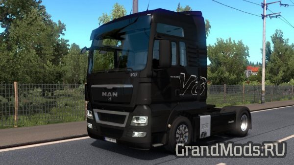 MAN TGX REWORKED V 2.5 [ETS2 v.1.32]