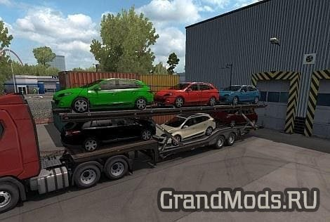 SCS  Cartransporter Cargo v1.0 [ETS2]