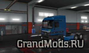 Mercedes Actros MP2 [up.3.12.2018] [ETS2]