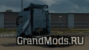 Low deck chassis for Eugene Volvo FH by Sogard3 [ETS2]