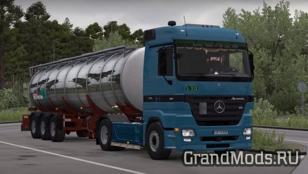 Mercedes Actros MP2 [up.22.10.2018] [ETS2]