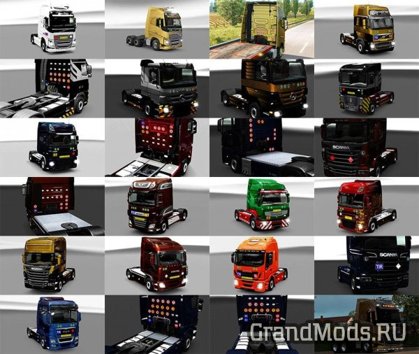 Signs on your Truck v1.1.2.75 [ETS2]