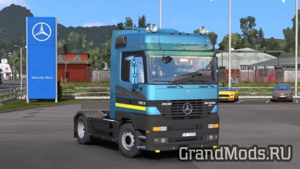 Mercedes Actros MP1 Edited v1.9 [ETS2]
