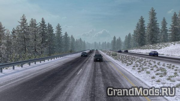 Frosty Winter Weather Mod v3.0 [ATS]