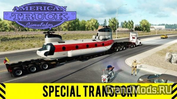 ATS: Тизер ролик Special Transport DLC