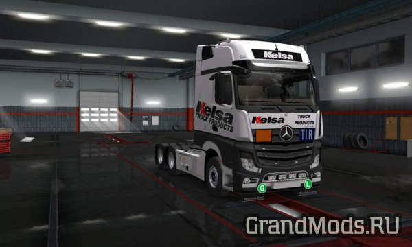 New Actros Valhein Edit v1.0 [ETS2]