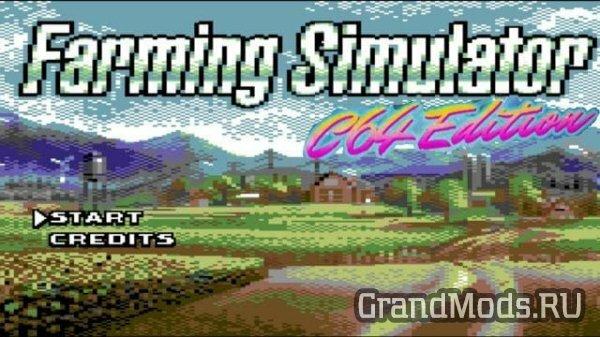 Первый взгляд на Farming Simulator C64