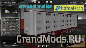 Ownable livestock trailer Michieletto v1.0 [ETS2]