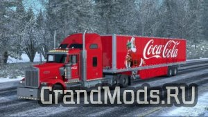 Skin Coca Cola Christmas for your trailer and trucks [ATS]